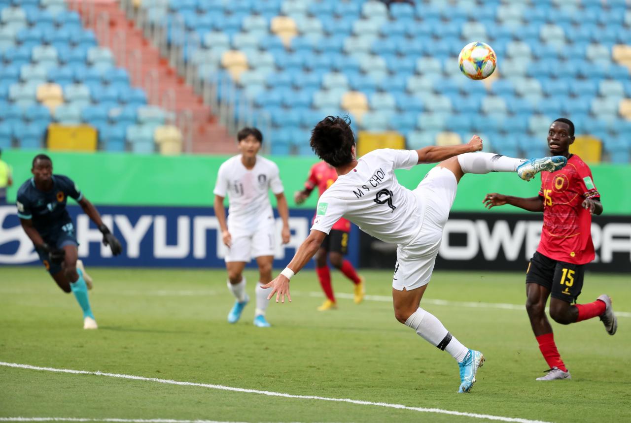 Forward Choi Min-seo (Yonhap)