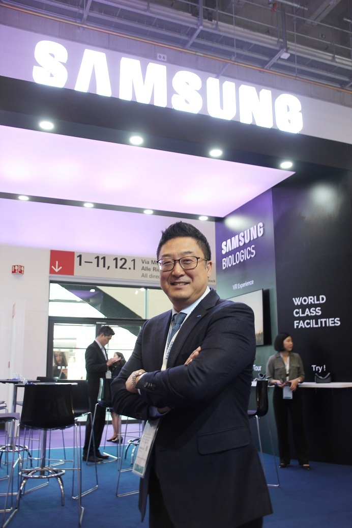 Samsung BioLogics Senior Vice President and global head of Business Development James Park (Lim Jeong-yeo/The Korea Herald)