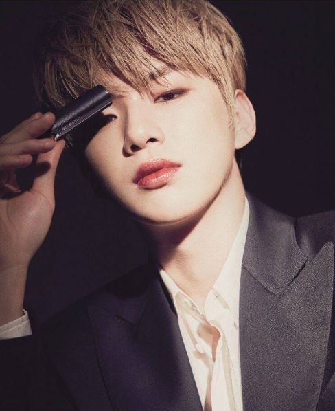 K-pop singer Kang Daniel is the face of Givency Beauty (Givency)