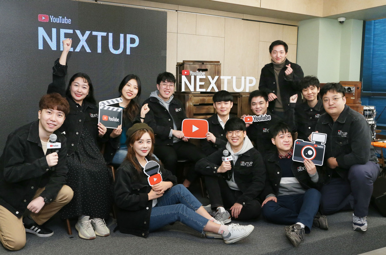 Twelve finalists participate in YouTube NextUp Korea 2019 from Monday to Wednesday (YouTube)