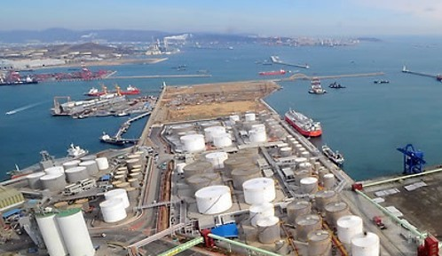 The Port of Ulsan aims to become the Northeast Asia Oil Hub (Yonhap)