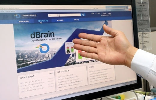 Government`s budget accouting system dBrain website