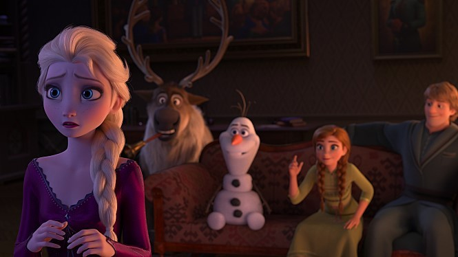 "An image from ""Frozen"" (Walt Disney Co. Korea)"