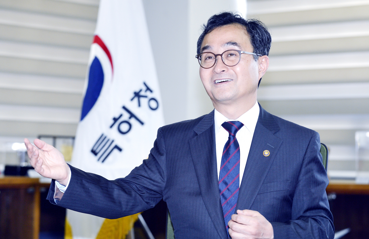 Korean Intellectual Property Office Commissioner Park Won-joo (KIPO)