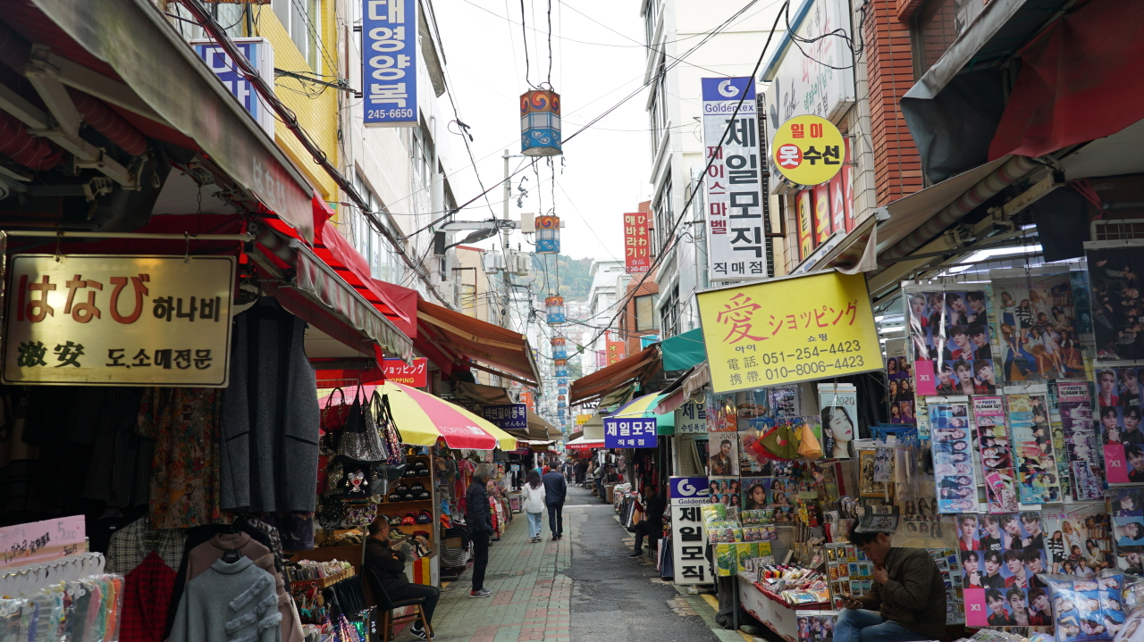 Gukje Market (Yoon Min-sik/The Korea Herald)