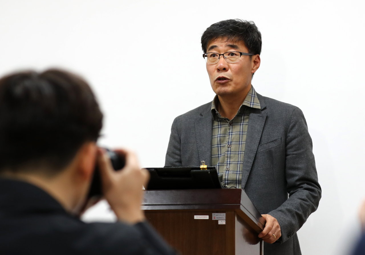 Head of ADD's external affairs office Han Yee-soo (Yonhap)