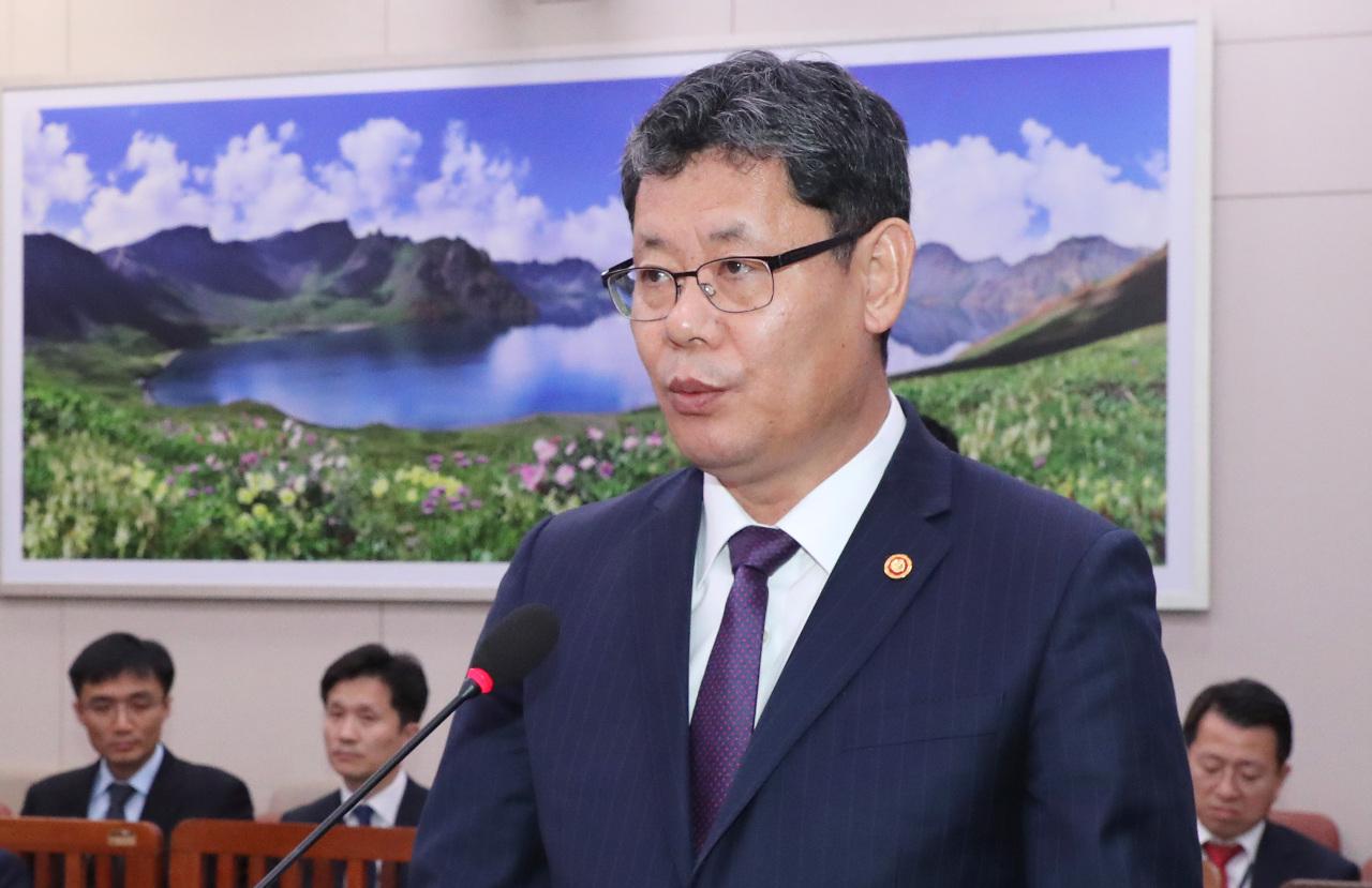 Unification Minister Kim Yeon-chul. Yonhap