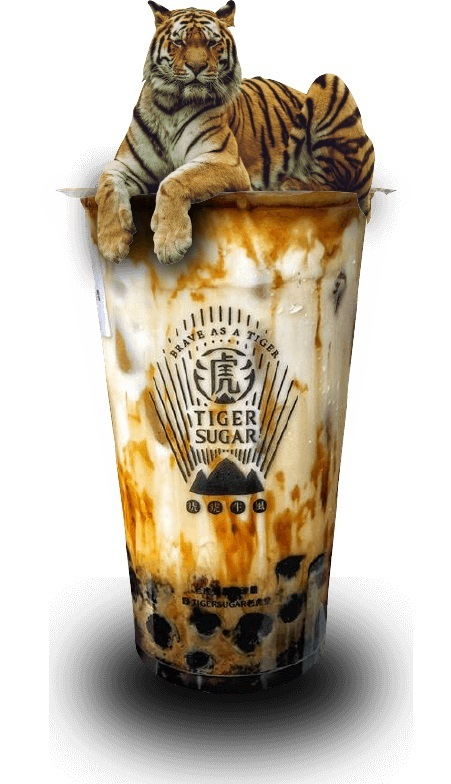 Tiger Sugar's signature brown sugar boba (Tiger Sugar)