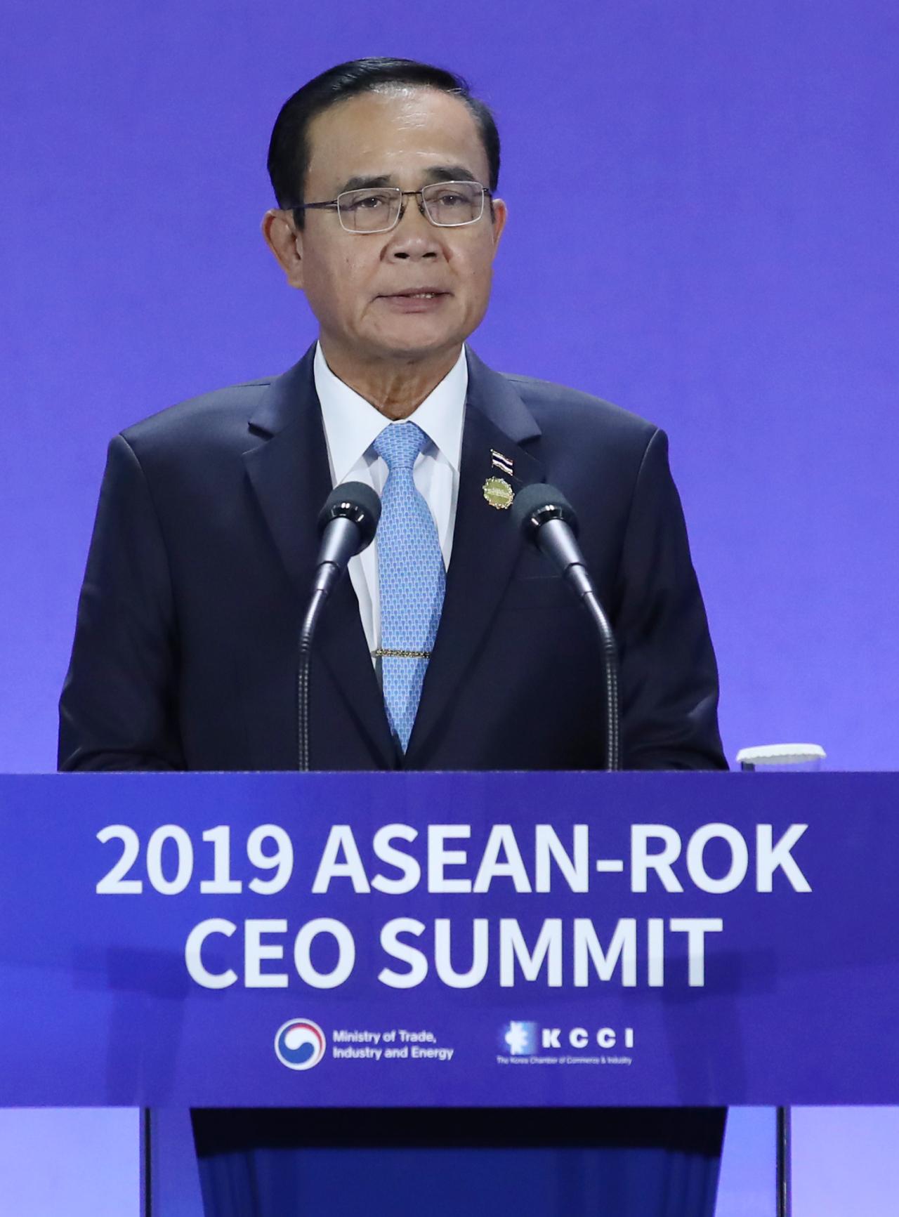 Thai Prime Minister Prayut Chan-o-cha (Yonhap)