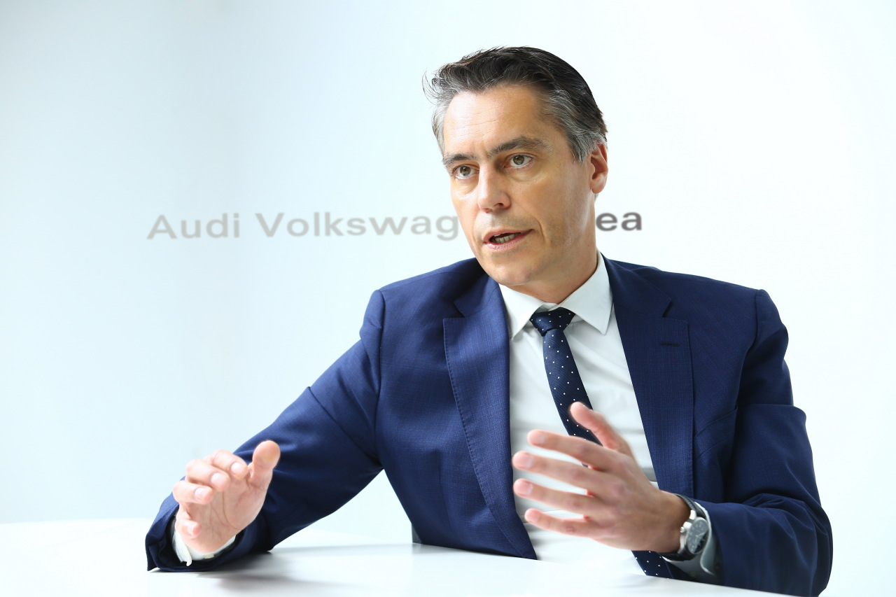 Audi Volkswagen Korea Group Managing Director Rene Koneberg (AVK)