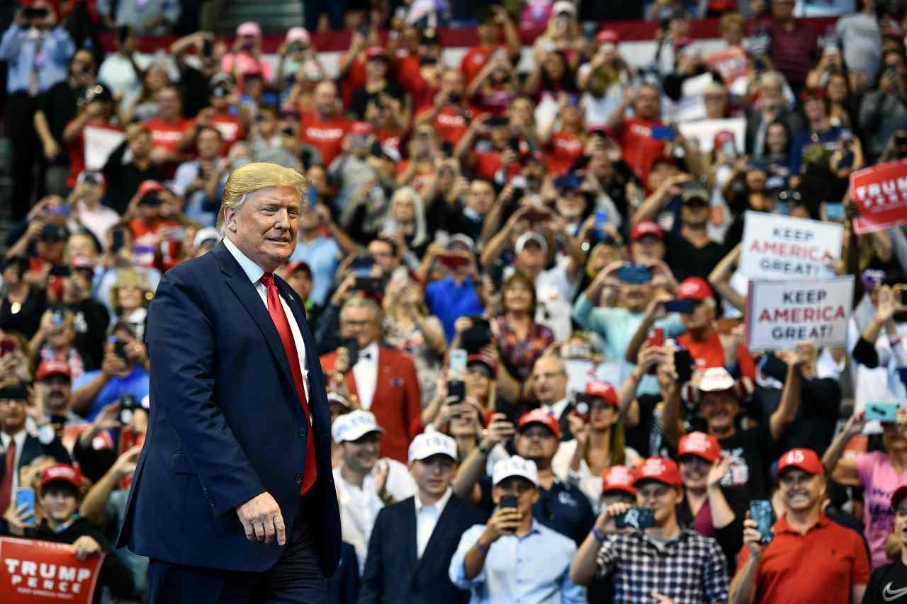US President Donald Trump (AFP-Yonhap)
