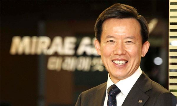 Mirae Asset Daewoo's Executive Vice Chairman and CEO Choi Hyun-man (Mirae Asset Daewoo)