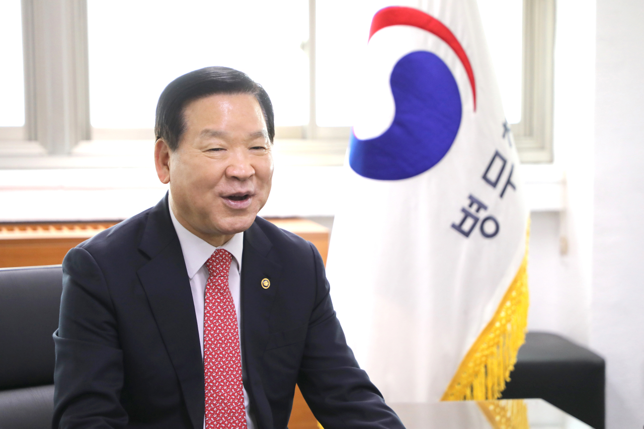 Commissioner for Military Manpower Administration Ki Chan-soo (Military Manpower Administration)