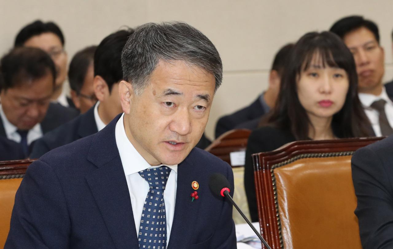 Welfare Minister Park Neung-hoo (Yonhap)