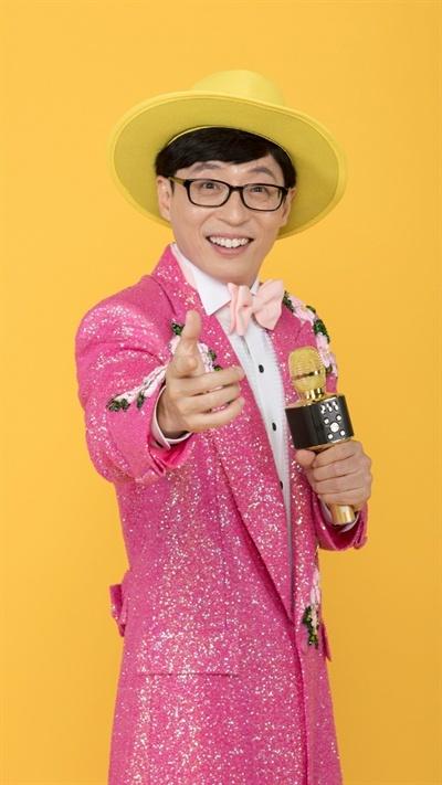 Comedian and rookie trot singer Yoo Jae-suk (MBC)