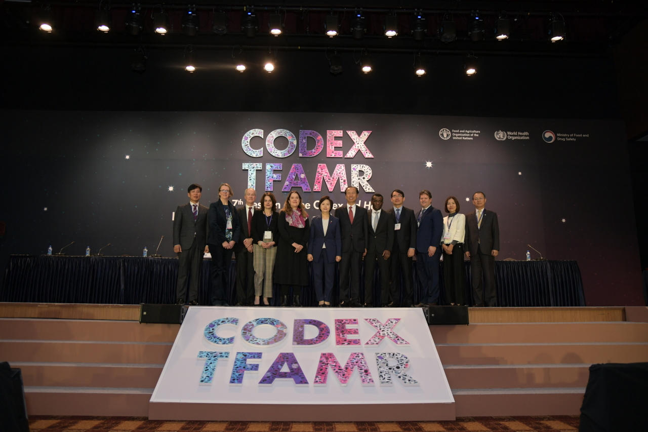 The Codex task force on antimicrobial resistance meets Monday in Pyeongchang, Gangwon Province. (Food and Drug Safety Ministry)