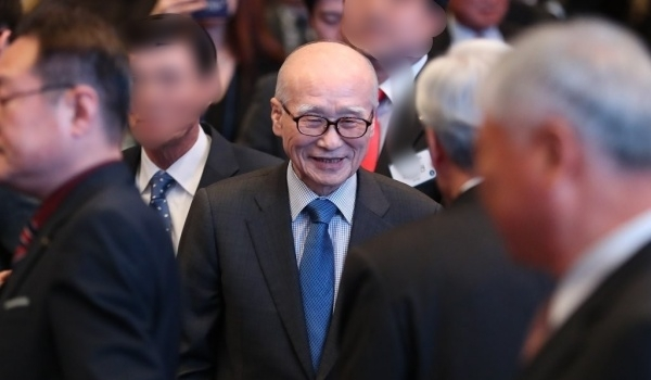 Former Daewoo Group Chairman Kim Woo-choong (Yonhap)