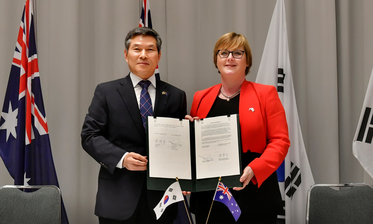 (South Korea's Defense Ministry)