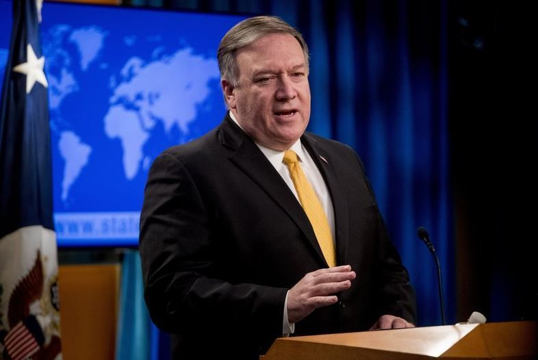 US Secretary of State Mike Pompeo (AP)