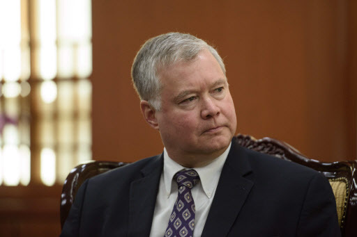 Stephen Biegun, US special representative for North Korea.(AFP-Yonhap)