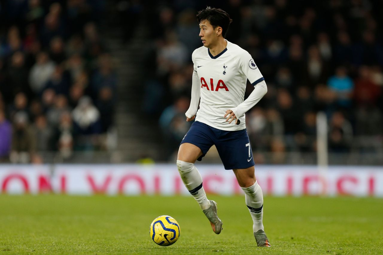 Tottenham Hotspur's attacking ace Son Heung-min (AFP-Yonhap)