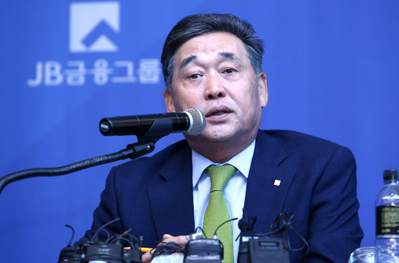 JB Financial Group Chairman Kim Ki-hong (JB Financial)