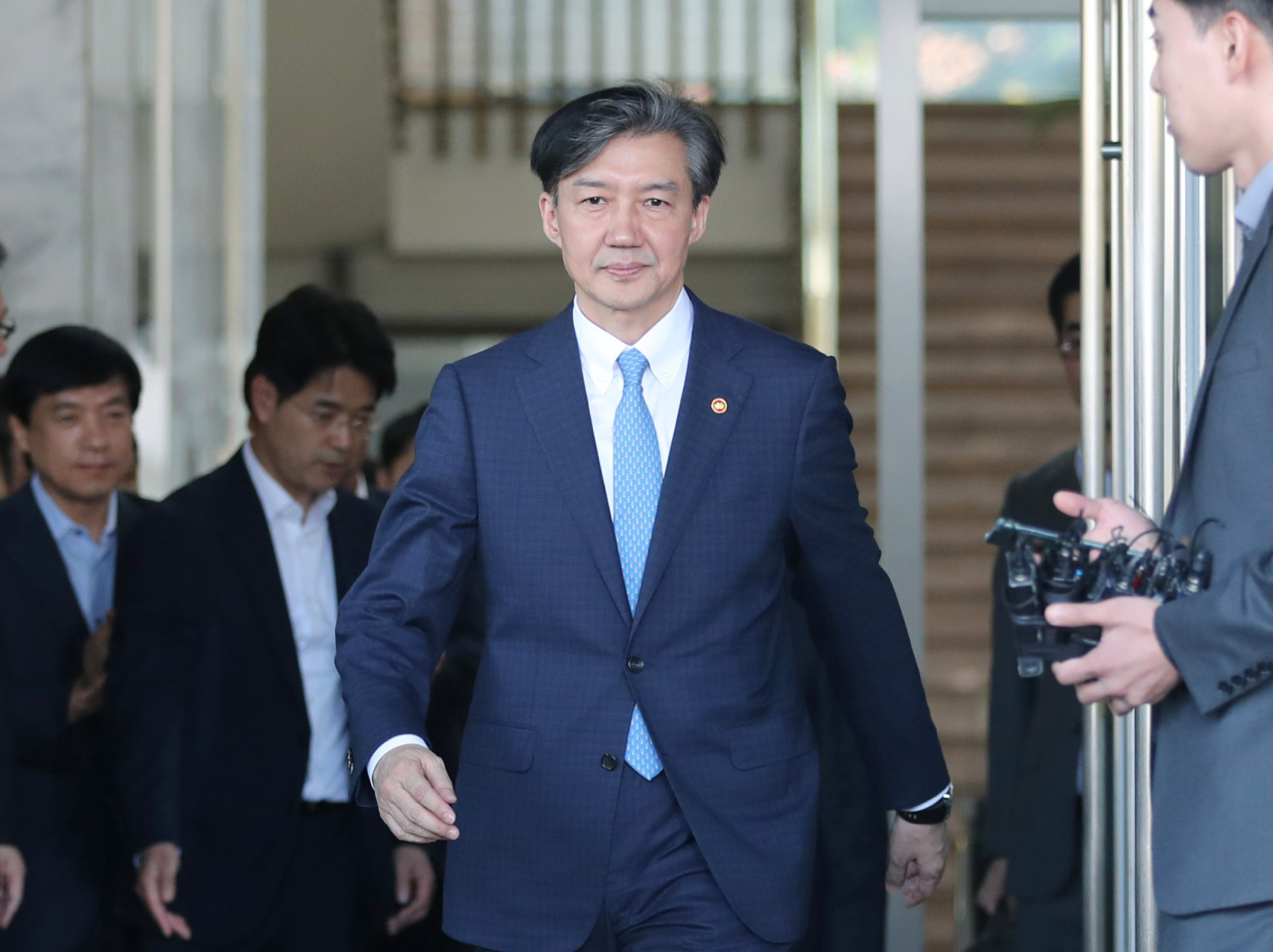 Former Justice Minister Cho Kuk (Yonhap)