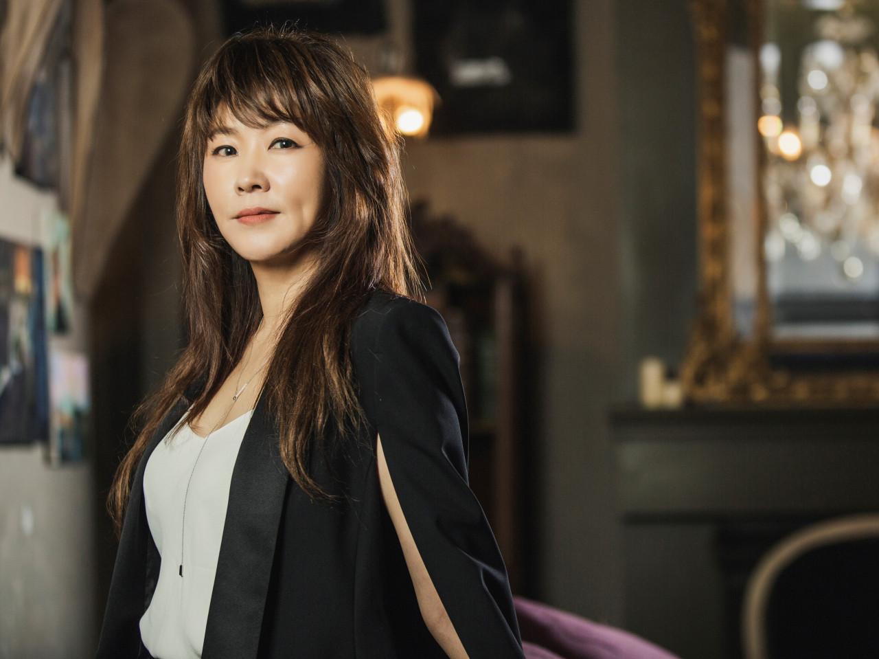 Jazz vocalist Nah Youn-sun (CICI)