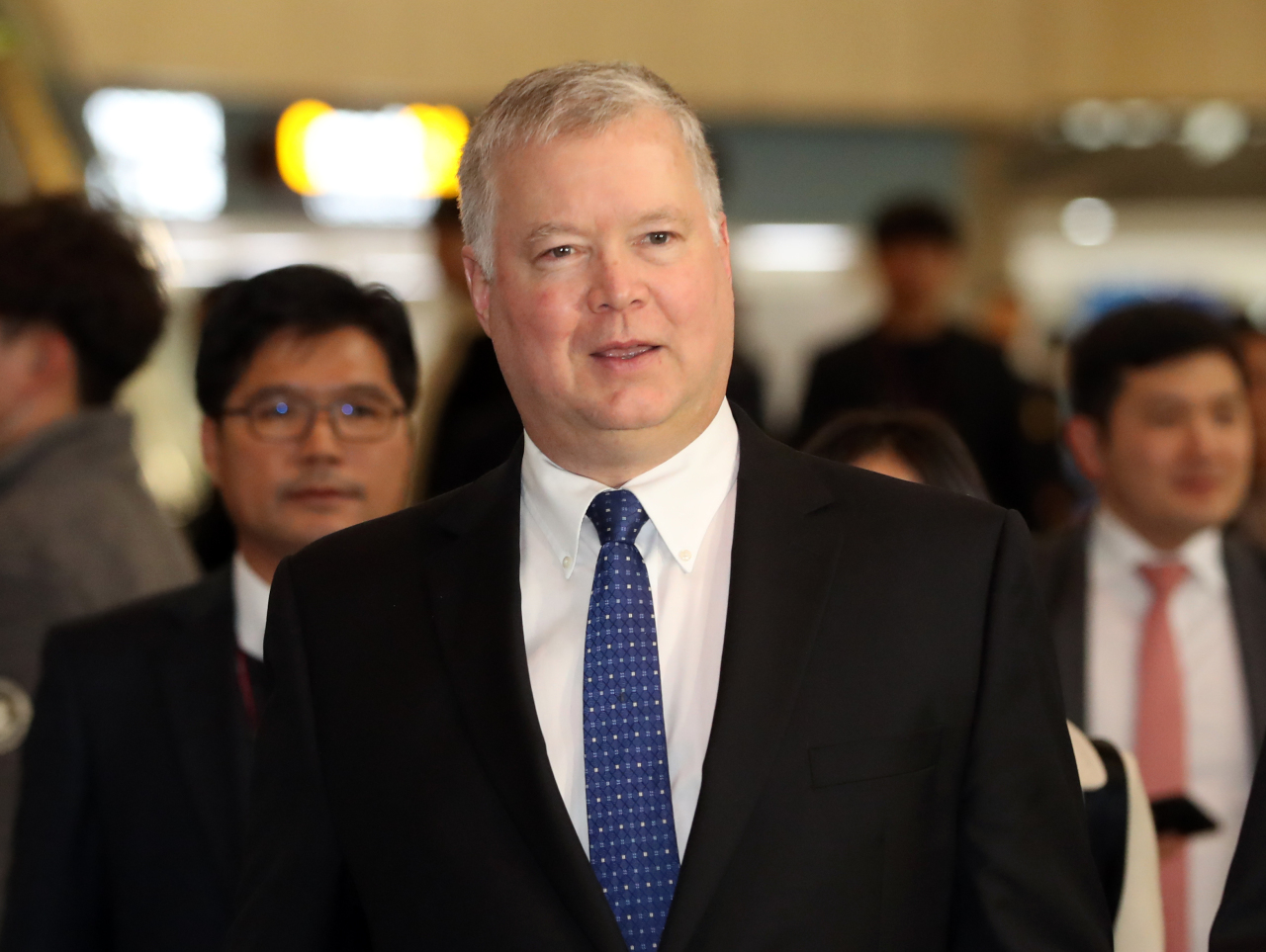US Special Representative for North Korea Stephen Biegun (Yonhap)