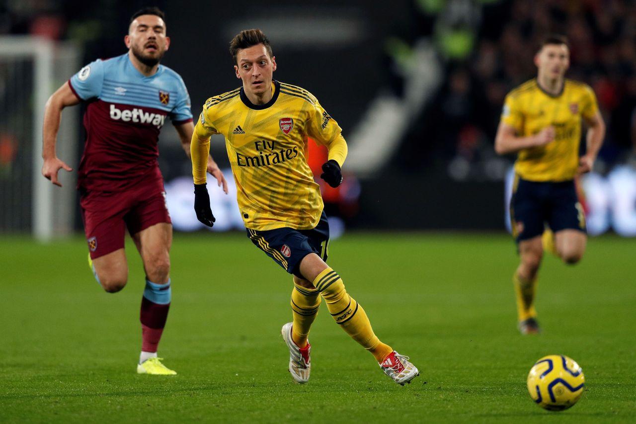 Arsenal midfielder Mesut Ozil (AFP-Yonhap)