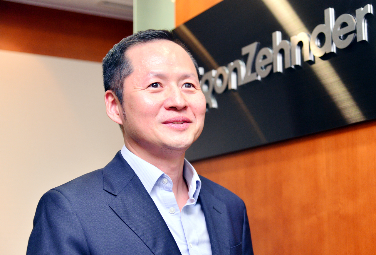 Eugene Kim, the managing partner of leadership advisory firm Egon Zehnder's Seoul office (Park Hyun-koo/The Korea Herald)