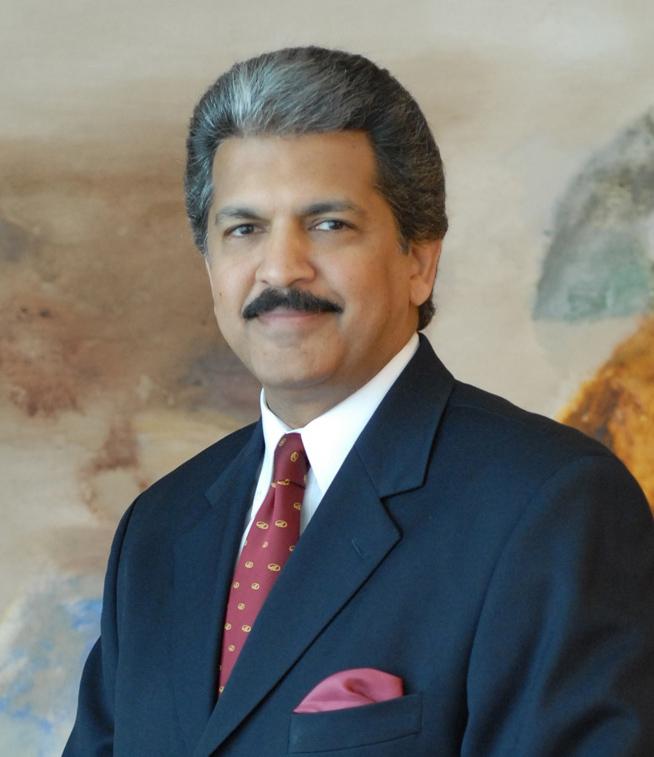 Mahindra & Mahindra Chairman Anand Mahindra (Mahindra & Mahindra)