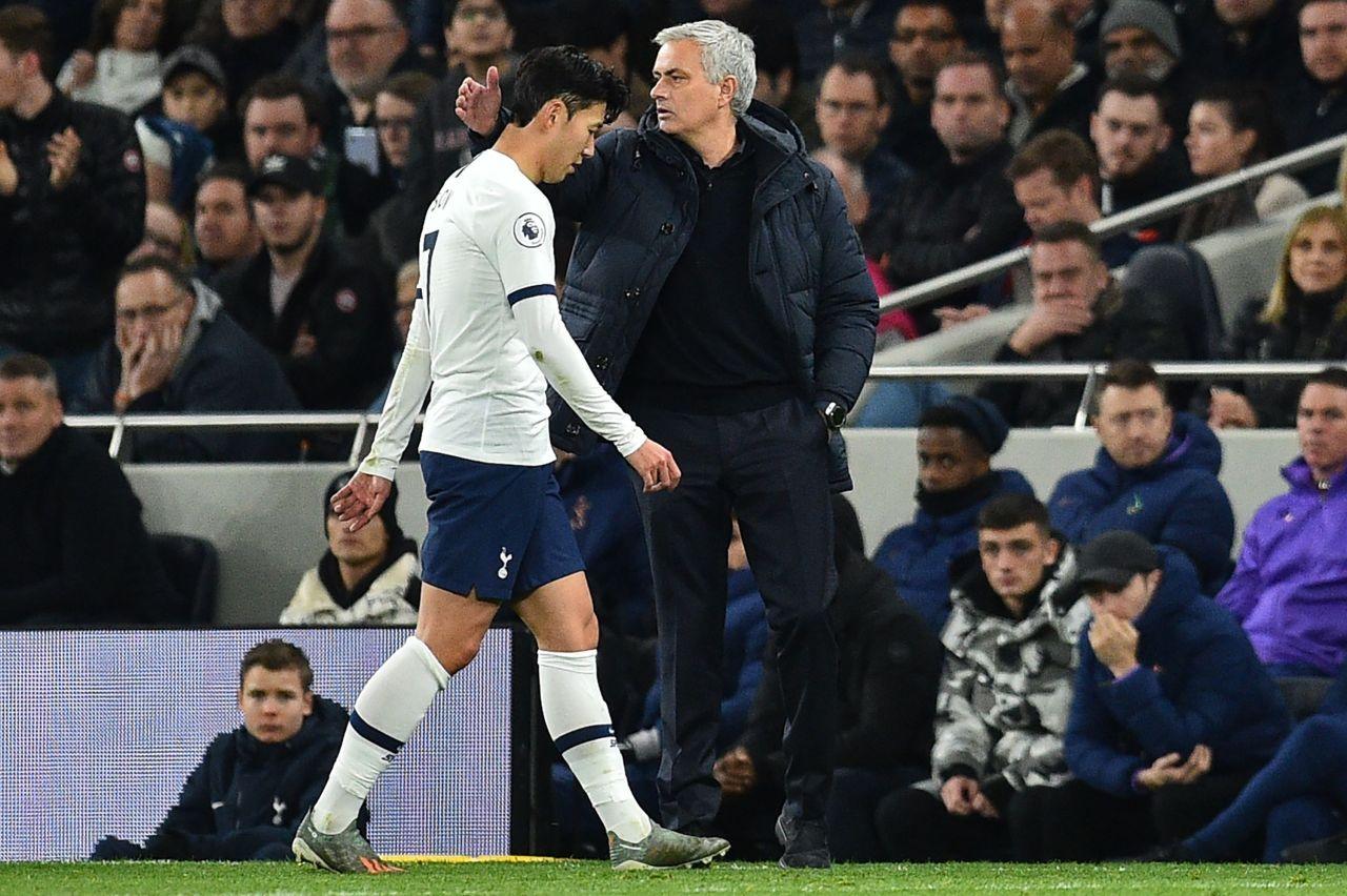 Tottenham Hotspur's Son Heung-min (AFP-Yonhap)