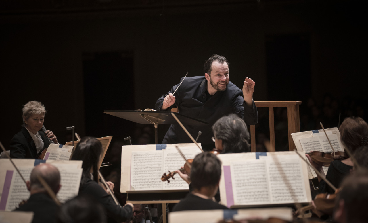 Conductor Andris Nelsons (Marco Borggreve)