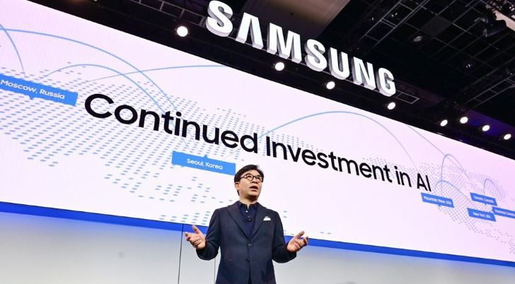 Samsung Electronics` CEO Kim Hyun-suk at CES 2019 (Yonhap)
