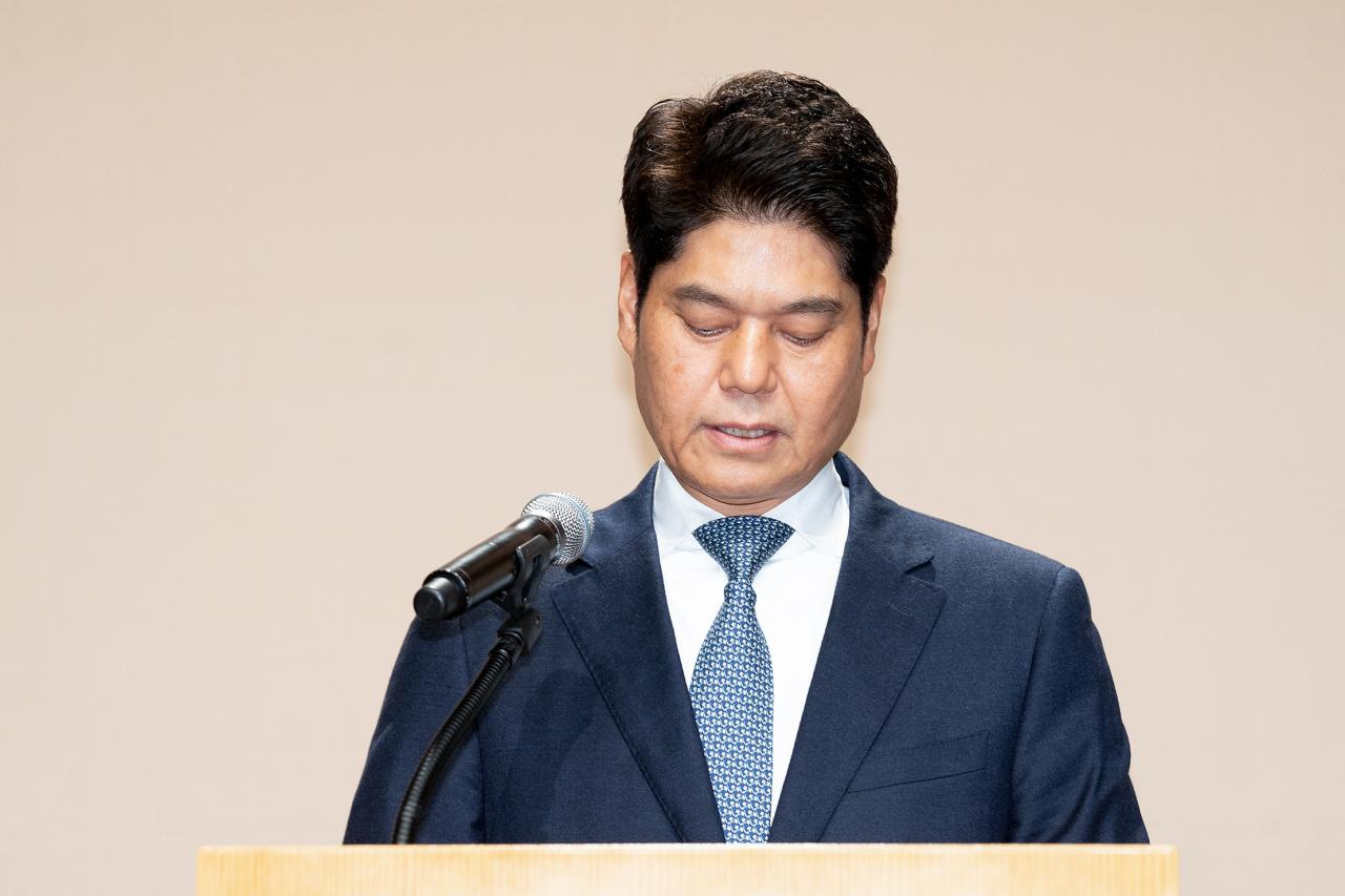 CEO of CJ ENM, Heo Min-heoi. (CJ ENM)