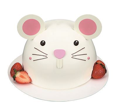 Shinsegae Food's the Managerie introduces mouse-design cakes. (Shinsegae Food)
