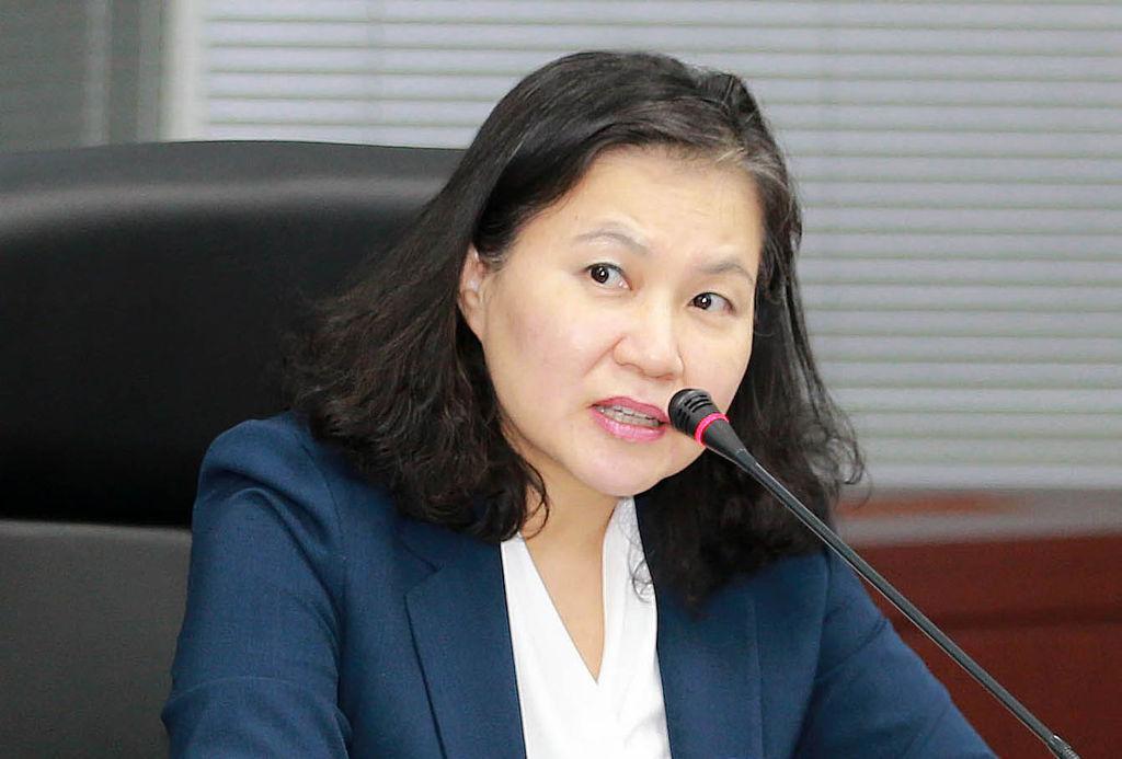 South Korea's Trade Minister Yoo Myung-hee (Yonhap)