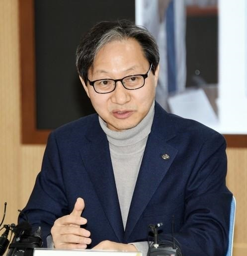 Kim Sung-joo, chairman of the National Pension Service.