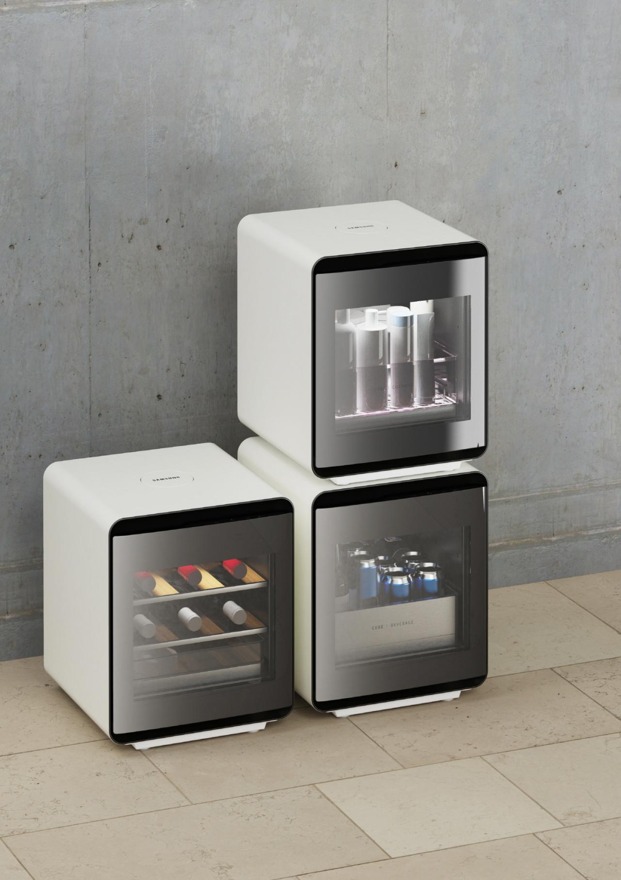 Cube-type fridges (Samsung Electronics)