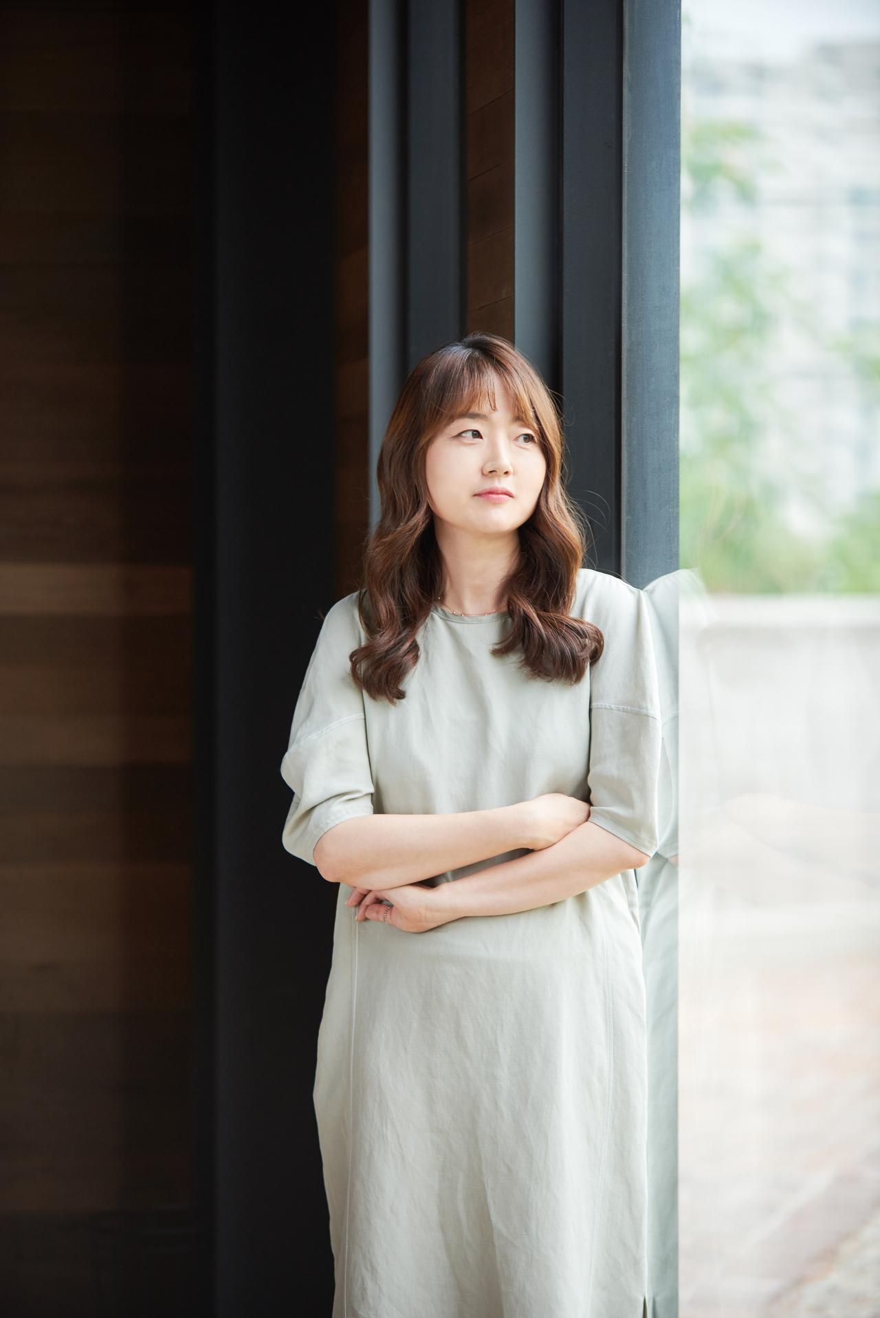 Writer Kim Geum-hee (Blossom Creative)