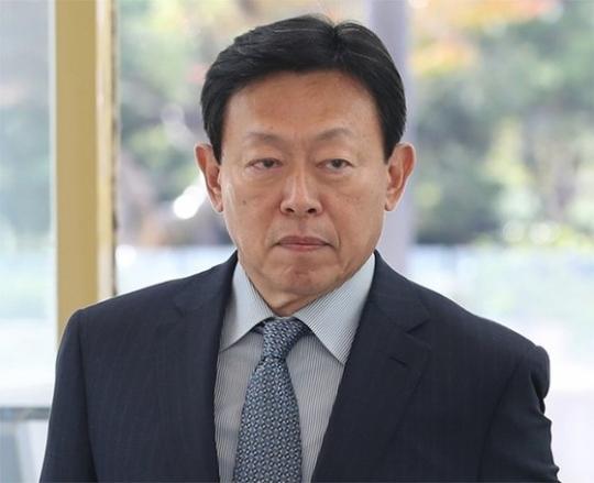 Lotte Group Chairman Shin Dong-bin (Yonhap)