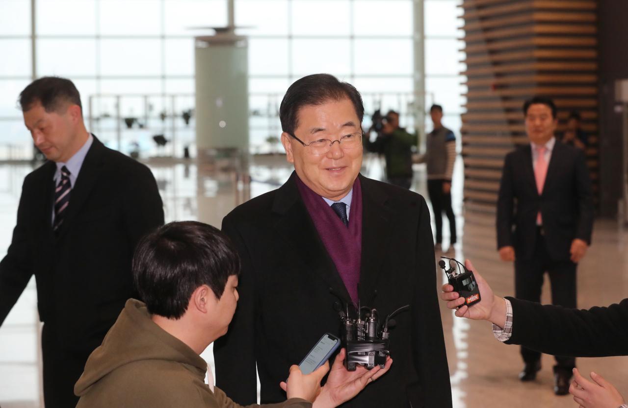 Chung Eui-yong (Yonhap)