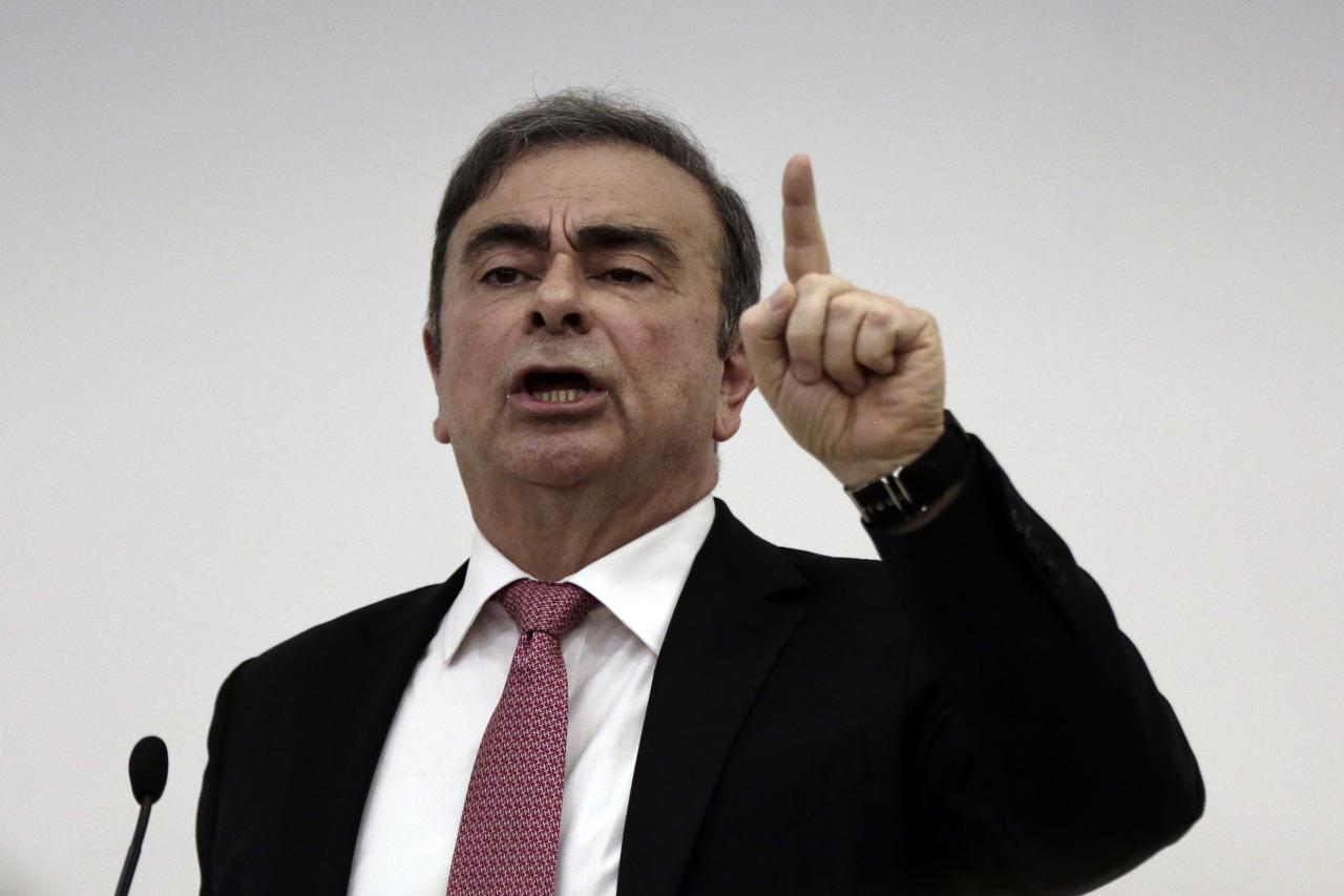 Carlos Ghosn (AP-Yonhap)