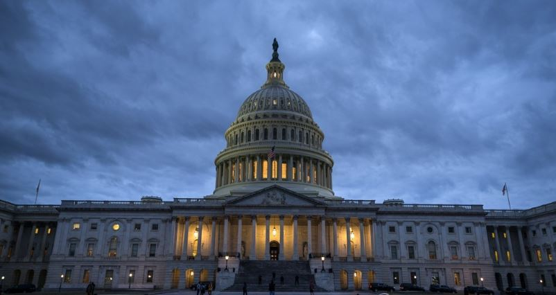 This EPA file photo shows the US Capitol in Washington. (Yonhap)