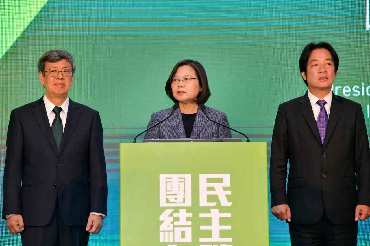 Taiwan's President Tsai Ing-wen (AFP-Yonhap)