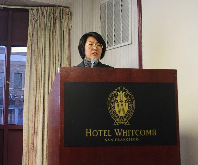 Yang Eun-young, head of CDO Business Team at Samsung BioLogics (Lim Jeong-yeo/The Korea Herald)