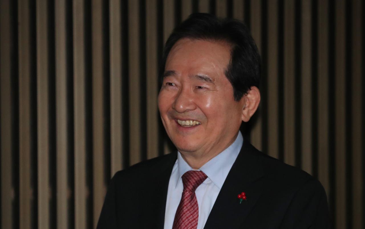 Prime minister nominee Chung Sye-kyun (Yonhap)
