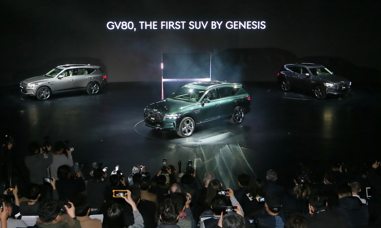 The Genesis GV80 marks dawn of new luxury SUV