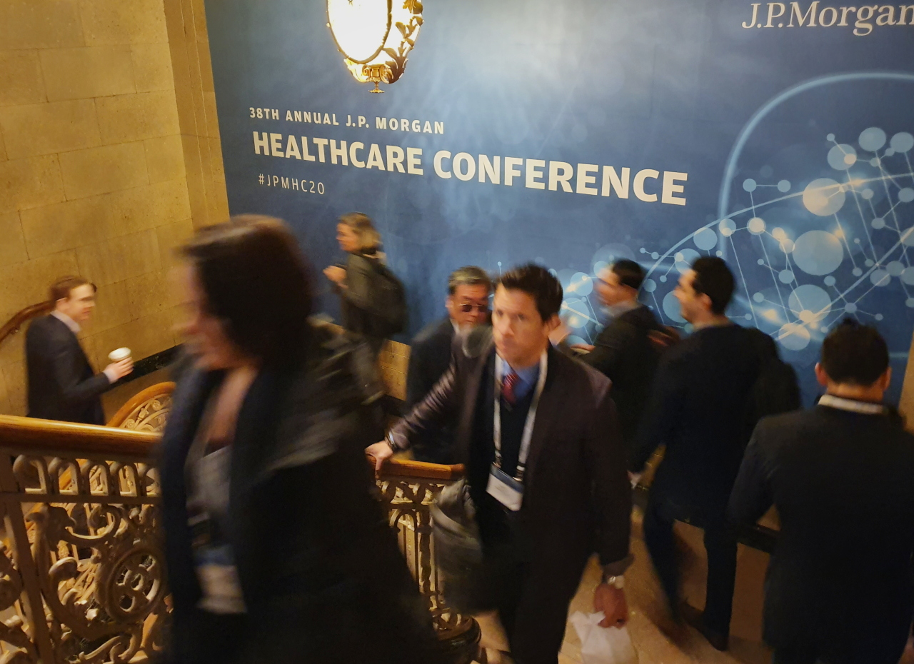 JP Morgan Healthcare Conference 2020 (Joint Press Corps.)